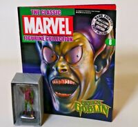 The Classic MARVEL Figurine Collection Green Goblin  Figure and Magazine