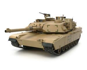 "Tamiya U.S. M1A2 Abrams ""Full Option"" Main Battle 1/16 Radio Control Tank Kit"