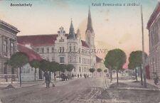 HUNGARY - Szombathely - Faludi ferencz-utca a zardaval 1914