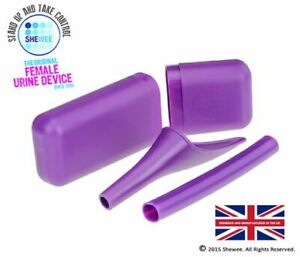 SHEWEE Extreme Reusable Pee Funnel - Purple