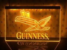 Guinness Toucan Beer LED Neon Light Sign Pub Bar Club Advertise Decor Sport Gift