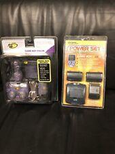 Mad Catz Travel Pack for Nintendo Game Boy Color PLUS Dual Power Set Batteries