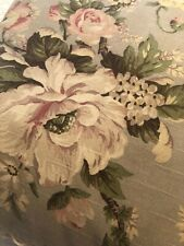 """Vintage Floral Roses Pillow Pink Green Shabby Cottage Decor 20"""" Lovely"""
