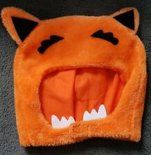 Orange Balaclava Fox Animal Halloween Monster Velcro Mask