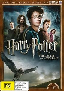 HARRY POTTER And The PRISONER OF AZKABAN DVD YEAR 3 2-DISCS SPECIAL BRAND NEW R4