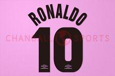 Ronaldo #10 1997-1998 Inter Milan AwayKit Nameset Printing