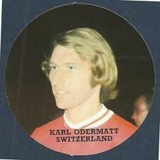 FKS 1972/73 Adesivo Circolare - # y-SVIZZERA-KARL ODERMATT