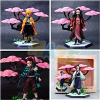 Demon Slayer:Kimetsu no Yaiba Kamado Nezuko Agatsuma Zenitsu Action Figure Toy