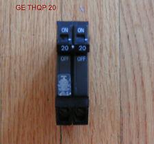 GENERAL ELECTRIC 20 AMP  CIRCUIT BREAKER 20 AMP 2 POLE THQP 120/240 VOLT   HACR