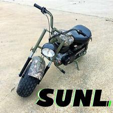 MASSIMO Power Sports Warrior MB200 SUPERSIZED 196cc MINI BIKE Motorcycle - CAMO