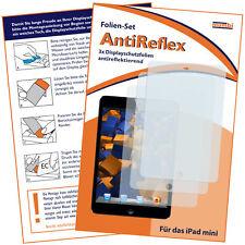 mumbi 3x Folie für Apple iPad Mini 1 / 2 / 3 Schutzfolie Displayschutzfolie matt