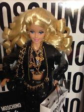 2015 Moschino Jeremy Scott Barbie Doll Caucasian Blonde NRFB (CHX10) EXCELLENT