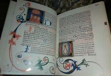 Medieval 1500's Facsimile Manuscript MISSALE Book of Hours Gilded Buckle 424