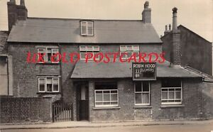 Dorset, BRIDPORT, The Robin Hood, Public House, Folly Mill Lane, Real Photo