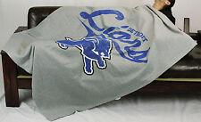 Northwest NFL Football Detroit Lions Sweatshirt Throw Blanket - Grey