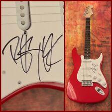 GFA Sum 41 Fat Lip Rock Star * DERYCK WHIBLEY * Signed Electric Guitar COA