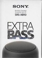 Sony SRS-XB10 - schwarz - kabelloser Lautsprecher - NFC - Bluetooth  - Neu & OVP