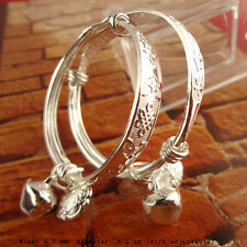 A Pair Baby Girls Boys Tibet  Bracelet with Cabinet  Bangle Party Jewelry Gift