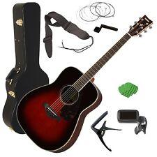 Yamaha FG830 Acoustic Guitar - Tobacco Sunburst STAGE ESSENTIALS BUNDLE