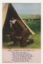 WW1, Jesu, Lover Of My Soul (1) Postcard, B128