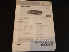 Original Service Manual Sony ST-D50L