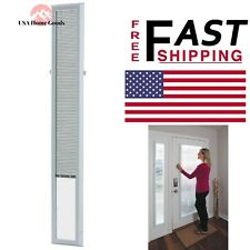 "ODL White Cordless Add On Enclosed Aluminum Blinds w/ 1/2"" Slats UV Protected"