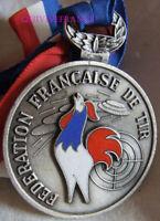MED10806 - MEDAILLE DE TIR CHAMPIONNAT DE FRANCE