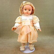"""Madame Alexander 18"""" Blonde Doll Margaret Ann Brady Voyage on Great Titanic 1999"""