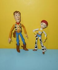 "Mattel  Disney Pixar Toy Story Woody 7"" Action Figure & 6"" Jessie Figure"