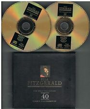 Ella Fitzgerald ‎– The Gold Collection - 40 Classic Performances 2 x CDs 1998
