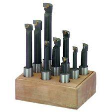 """12mm carbide boring bar 9PCS for 50mm / 2"""" F1-12 boring head BRIDGEPORT MILLING"""
