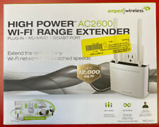 Amped Wireless REC44M High Power Plug-In Wi-Fi Range Extender with MU-MIMO