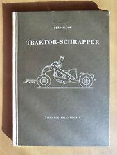 Rarität von 1955 Pleschkow Traktor-Schrapper Schürfkübelwagen Seilzug Hydraulik