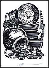 Leonenko Vasyl 1997 Exlibris X3 Numismatics Coins Munzen Architecture Sanok 851
