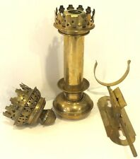 Vintage Brass Railway Train Carriage Wall Sconces Candle Holder Parts Only