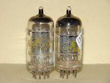 1963 (2) Raytheon Lowery 12AX7 ECC83 Vacuum Tube Strong Balanced Matched Pair