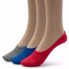 e74c49ff8 Silky Toes Womens Breathable Comfortable No Show Socks, 9-11, Multi Color