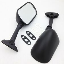 Black Racing Mirrors For Suzuki GSXR 600 750 1000 2001 2002 2003