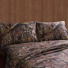 Camo Real Tree Pattern Mount Monadnock Set Twin Bed sheets - Hunting