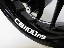 Felgenbettaufkleber 790003 CB-1100-RS 4er-Set passend für Honda Motorrad