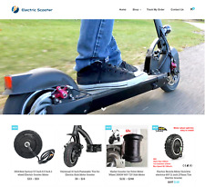 Electric Scooter Turnkey Website BUSINESS For Sale - Profitable DropShipping