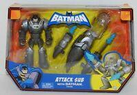 Vintage Batman Attack Sub NIP Snap & Attack Mattel 2009 Action Figure NIP New