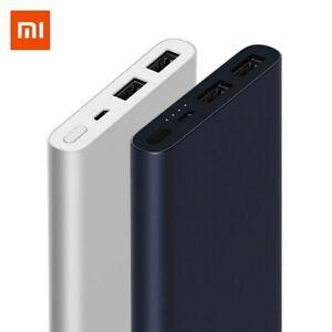 Xiaomi Power Bank 10000mAH Dual USB Port Quick Charge Ultrathin External Battery