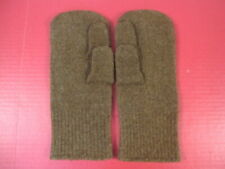 WWII Era US Army Wool Mittens Inserts w/Trigger Finger - 1st Pattern - Unissued