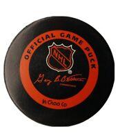 FLORIDA PANTHERS NHL INGLASCO GARY B. BETTMAN OFFICIAL GAME PUCK VINTAGE CANADA