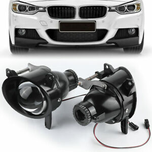 2X 3.0in Fog Light Lamp Projector Lens For BMW 3 Series F30 F35 F31 F34 F22 LCI