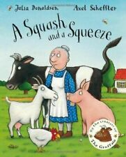 Paperback Childrens Story Book a Squash and a Squeeze by Julia Donaldson