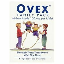Ovex Family Pack Mebendazole 100mg- 4 Tablets