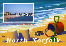 North Norfolk Postcard - Wells next the Sea - Wells Lifeboat Station