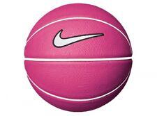Nike Mini Pink White Basketball White Tick Rubber NBA Training Small Size 3